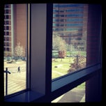 Photo taken at Dorrance H. Hamilton Building by Brian N. on 2/10/2013