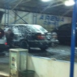 Photo taken at Arema Car Wash by Diaz P. on 6/18/2013