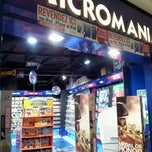 Photo taken at Micromania by Nicolas C S. on 10/24/2012