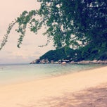 Photo taken at Haad Tien Beach Resort by Ashley on 5/3/2013