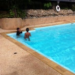 Photo taken at Swimming pool Away Suansawan resort by Govit T. on 7/21/2013