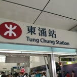 Photo taken at Tung Chung Station Bus Terminus 東涌站巴士總站 by Pongthawat P. on 7/27/2013