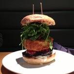 Photo taken at Gourmet Burger Kitchen by Mark B. on 9/30/2012