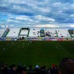 Photo taken at Stade Slaheddine Bey by FaRess C. on 2/14/2015