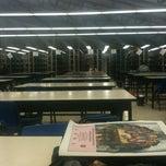 Photo taken at Biblioteca by Viviana E. on 2/26/2013