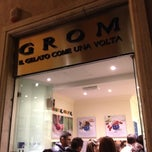 Photo taken at Grom by Pedro Pablo P. on 11/10/2012