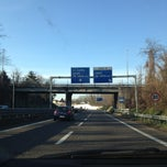 Photo taken at SS 35 Superstrada Milano-Meda by Oskar M. on 12/30/2012