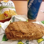 Photo taken at SUBWAY by Kim F. on 5/8/2013