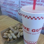 Photo taken at Five Guys by Toni G. on 9/7/2013