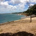 Photo taken at Lagoa do Bonfim by Giovanna D. on 1/6/2013