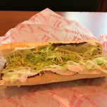 Photo taken at Jimmy John's by Joel S. on 2/11/2014