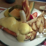 Photo taken at Cora's by Lady Vee O. on 12/24/2012