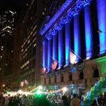 Photo taken at New York Stock Exchange by Samuel W. on 10/17/2013