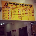Photo taken at Ipoh Road Yong Tow Foo by Kern Sheng L. on 10/12/2012