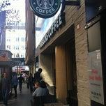 Photo taken at Starbucks by Erçin Ö. on 11/5/2012
