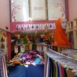 Photo taken at Galeri Skaf & Tudung Ariani by Zulf F. on 5/4/2015