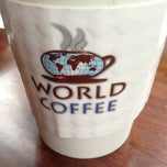 Photo taken at World Coffee by Charlie R. on 2/22/2013