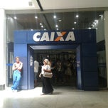 Photo taken at Caixa Econômica Federal by Hudson G. on 12/9/2013