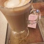 Photo taken at Vero espresso by Pablo L. on 12/9/2012