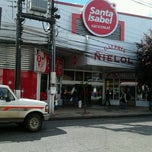 Photo taken at Santa Isabel by Sandra G. on 10/24/2012
