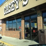 Photo taken at Casey's General Store by Teresa on 2/2/2013
