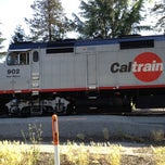 Photo taken at Blossom Hill Caltrain Station by Suzette M. on 4/24/2013