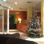 Photo taken at Ibis Hotel Frankfurt City West by Skourat on 12/9/2012