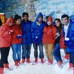 Photo taken at Snow World by Anirudh S. on 2/17/2013