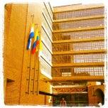 Photo taken at Pontificia Universidad Javeriana by Oscar Eduardo B. on 7/15/2013