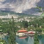 Photo taken at Shangrilla Lake by waqas K. on 8/11/2014