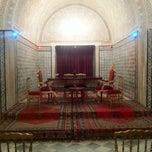 Photo taken at Palais Kobbet Ennhas by Raoua K. on 12/27/2012
