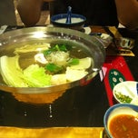 Photo taken at MK Gold (เอ็มเค โกลด์) by Minyoung K. on 12/23/2012