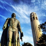 Photo taken at Coit Tower by Jenny S. on 10/19/2012