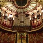 Foto tomada en Palau de la Música Catalana por Lourdes B. el 11/15/2012