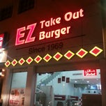Photo taken at EZ Take Out Burger by Ahmed A. on 3/7/2013