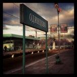 Photo taken at Станция «Одинцово» by Nastya T. on 11/10/2012