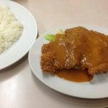 Photo taken at 肉のますゐ by Makoto T. on 1/22/2013