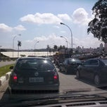 Photo taken at Viaduto Prefeito Saladino by Valdésio De Soraia U. on 2/25/2013