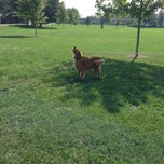 Photo taken at Noblitt Park by cathy g. on 10/4/2013
