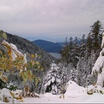 Photo taken at Cypress Mountain Lookout by Marc C. on 10/22/2012