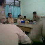 Photo taken at SMAN 6 Bekasi by Nabilla A. on 11/19/2011