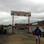 Photo taken at The London Borough of Barking & Dagenham Stadium by Andrew C. on 5/31/2011