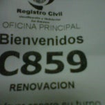 Photo taken at Registro civil by Jose N. on 9/16/2011