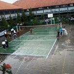 Photo taken at SMPN 45 Bandung by Wanda I. on 4/3/2013