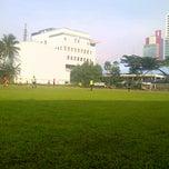 Photo taken at Gelanggang Mahasiswa Soemantri Brojonegoro by Ilham M. on 12/2/2012