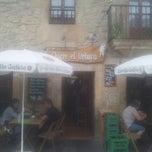 Photo taken at Chigre El Orbayu by john_berna on 8/8/2013