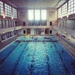 Photo taken at Piscine du Luxembourg by Lisa S. on 11/24/2013