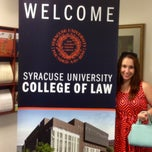 Photo taken at Syracuse University College Of Law by Alexandra H. on 6/20/2014