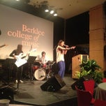 Photo taken at David Friend Recital Hall by Berklee College of Music on 3/27/2013