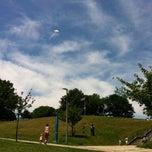 Photo taken at Ronan Park by Rosanne F. on 6/28/2014